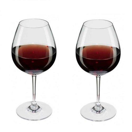 Rotwein Glas
