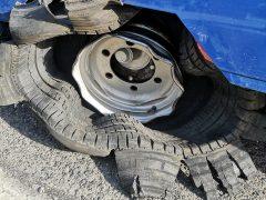 Reifenplatzer
